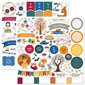 Picture of Fall Into Winter Stackable Stickers